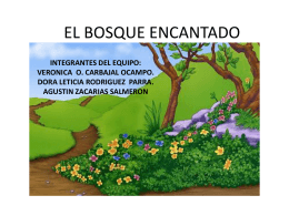 EL BOSQUE ENCANTADO - Red Digital de Intercambio