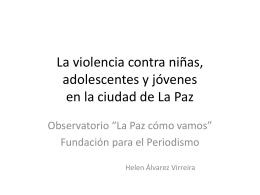 Violencia contra niñas