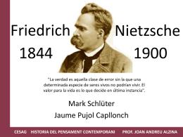 Práctica 7 Friedrich Nietzsche