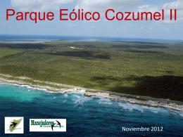 Parque Eólico Cozumel el imperio contra ataca