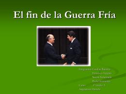 Fin de la Guerra Fría - Patricio Alvarez Silva