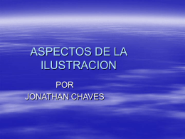 ASPECTOS DE LA ILUSTRACION
