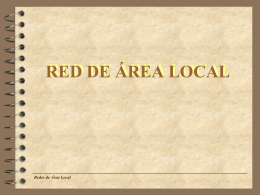 RED DE ÁREA LOCAL - IES1CTO