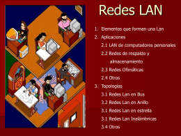 LAN (Redes de Área Local) -