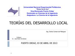 Economía Social y Desarrollo Local