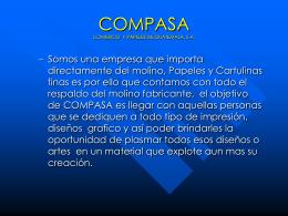 COMPASA COMERCIO Y PAPELES DE GUATEMALA, S.A.