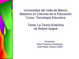 Universidad del Valle de México Maestría en