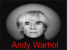 Andy Warhol - Historia en 1º Bachiller