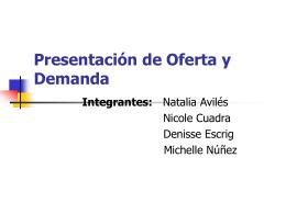 Oferta y Demanda - Fundamentoseconomicos`s Weblog