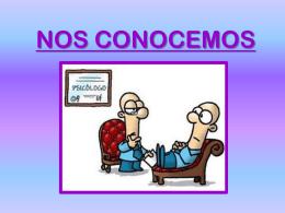 NOS CONOCEMOS