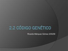 Código genético - Biologia Molecular | Clase