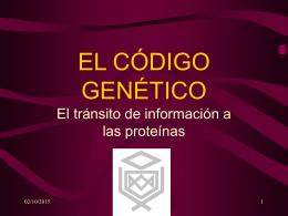 EL CÓDIGO GENÉTICO - PROFESOR JANO es Víctor M.