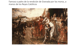 Famoso cuadro de la rendición de Granada por los