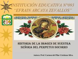 """INSTITUCIÓN EDUCATIVA N°093 """"EFRAIN ARCAYA"""