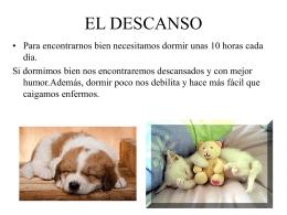 EL DESCANSO - Mi aula en la red | José – Juan