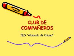 CLUB DE COMPAÑEROS