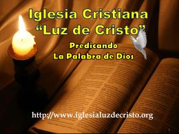 LA VERDADERA GRACIA - Iglesia Cristiana Luz de