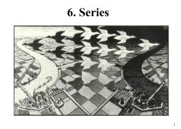 6_ Series - Departamento de Matemática