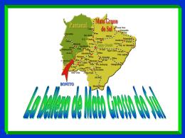 La belleza de Mato Grosso do Sul