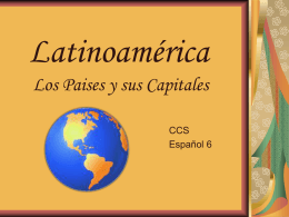 Latin America Countries and Capitals