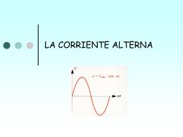 LA CORRIENTE ALTERNA - ELEFP