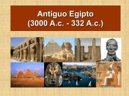 Antiguo Egipto (3000 a.c.