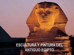 LAS ARTES PLÁSTICAS EN EL ANTIGUO EGIPTO