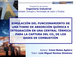 SIMULACIÓN DEL FUNCIONAMIENTO DE UNA TORRE DE
