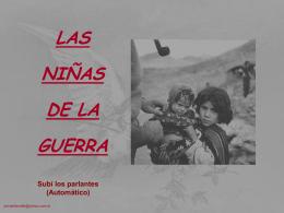 Las niñas de la guerra
