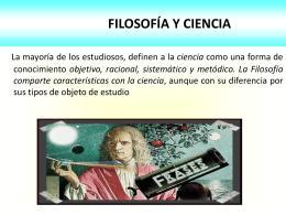RELACIÓN ENTRE FILOSOFÍA, RELIGIÓN, CIENCIA Y ARTE