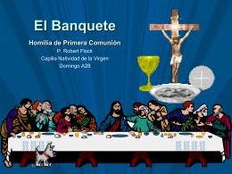 El Banquete - Bienvenidos a la Parroquia La Santa