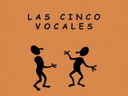 Las cinco vocales
