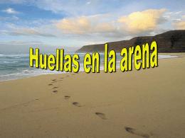 Huellas en la Arena - Archidiócesis de Madrid
