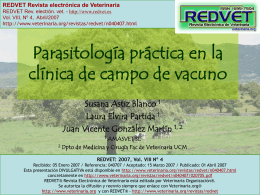 Diapositiva 1 - Veterinaria.org