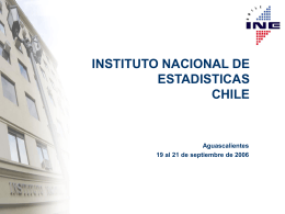 Instituto Nacional de Estadísticas de Chile