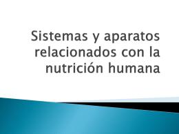 Sistemas y aparatos relacionados con la nutrición