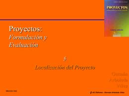 4 Tamaño de los Proyectos Definición