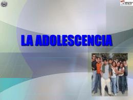 LA ADOLESCENCIA - www.sasia.org.ar