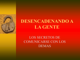 Unlocking People - Centavos -