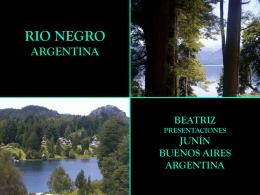 RIO NEGRO- ARGENTINA
