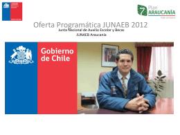 Junta Nacional de Auxilio Escolar y Becas JUNAEB