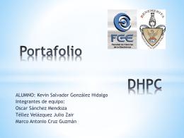 Portafolio DHPC