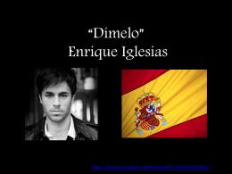 """Dímelo"""" Enrique Iglesias"""
