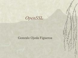 OpenSSL - Inicio · Departamento de Electrónica
