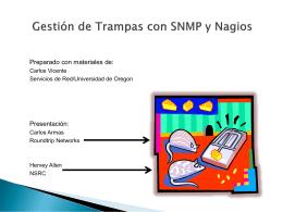 Gestión de Traps SNMP - Internet Society (ISOC)