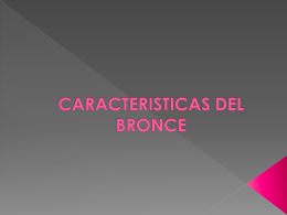 CARACTERISTICAS DEL BRONCE - materialesfull