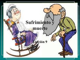 Sufrimiento y muerte - IGLESIA MANANTIAL DE VIDA