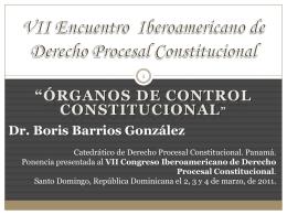 VI Encuentro Iberoamericano de Derecho Procesal