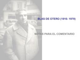 BLAS DE OTERO (1916-1979) - Materiales de Lengua y