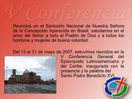 Mensaje de la V Conferencia General a los Pueblos